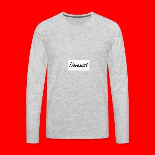 Davemist Titled Products - Men's Premium Long Sleeve T-Shirt