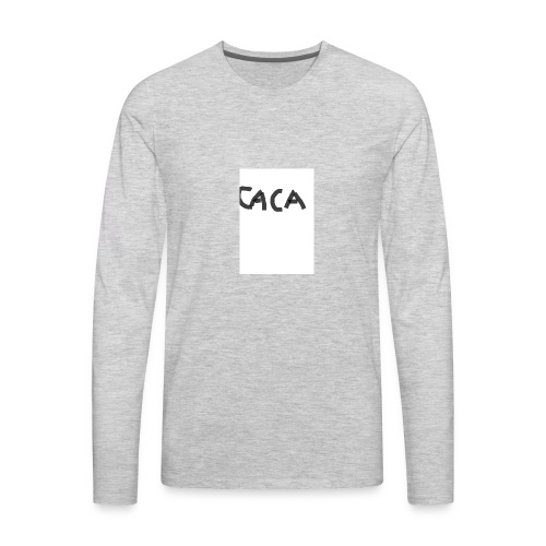 caca - Men's Premium Long Sleeve T-Shirt
