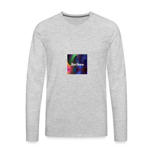 youtube profile picture - Men's Premium Long Sleeve T-Shirt