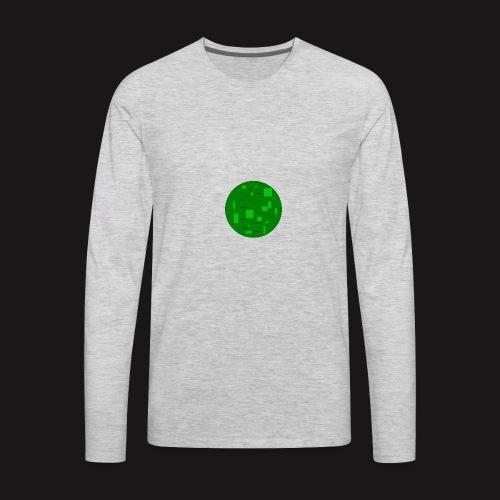 ladder of warriorzzz pixilart - Men's Premium Long Sleeve T-Shirt
