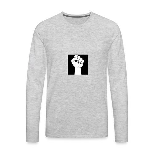Fist of bang ba bang - Men's Premium Long Sleeve T-Shirt