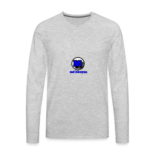 md bhuyan dab bro - Men's Premium Long Sleeve T-Shirt