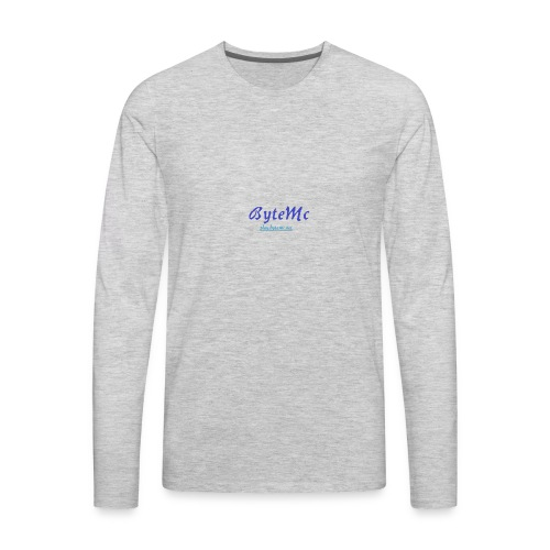 ByteMc Merch - Men's Premium Long Sleeve T-Shirt