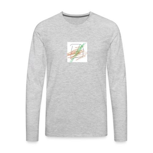 chancla icetea - Men's Premium Long Sleeve T-Shirt