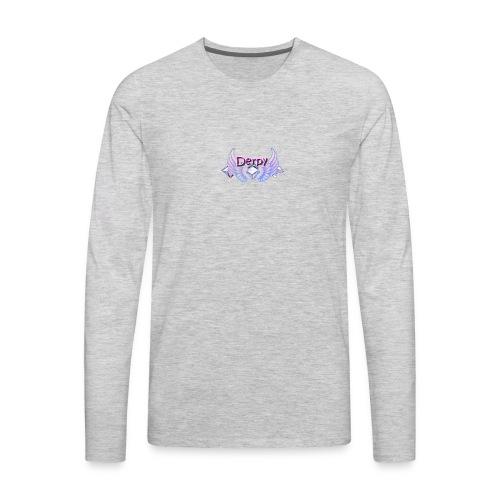 Derpy Main Merch - Men's Premium Long Sleeve T-Shirt