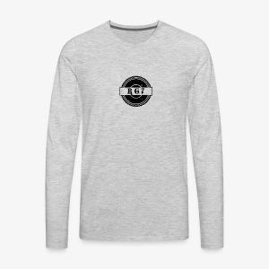Vintage RG7 logo - Men's Premium Long Sleeve T-Shirt