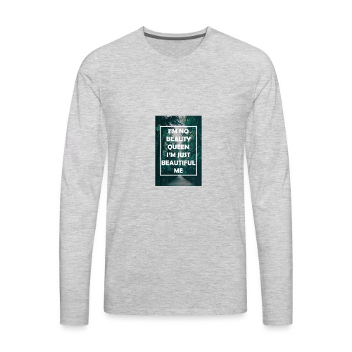 Pretty lil me - Men's Premium Long Sleeve T-Shirt