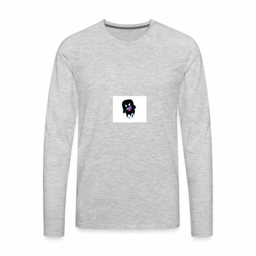 dubstep scary - Men's Premium Long Sleeve T-Shirt