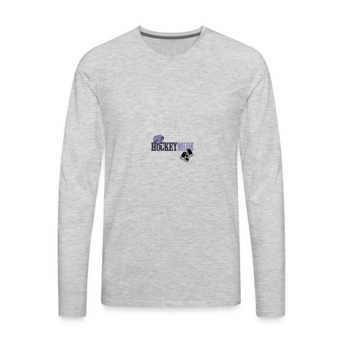 hoceky_mom_4 - Men's Premium Long Sleeve T-Shirt