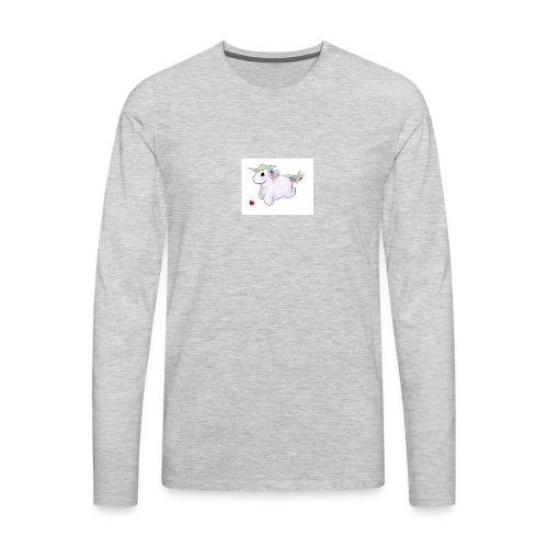 ff6135973e0410e02db54052d3b1f24c gay unicorn unic - Men's Premium Long Sleeve T-Shirt