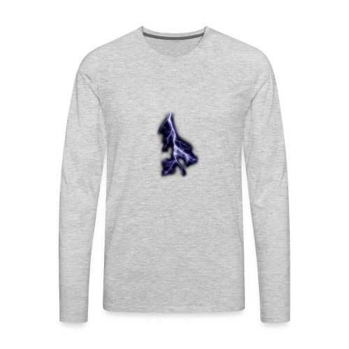 lightning bolt - Men's Premium Long Sleeve T-Shirt