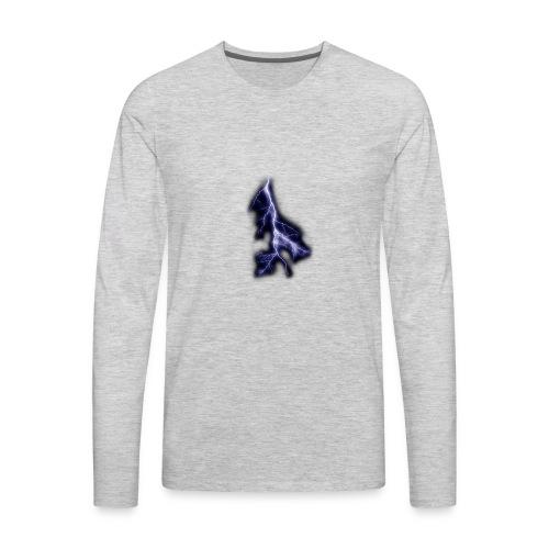 lightning bolt - Men's Premium Long Sleeve T-Shirt