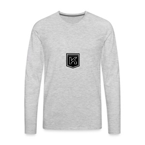 KODAK LOGO - Men's Premium Long Sleeve T-Shirt