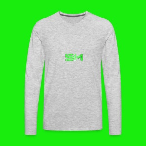 SloMotion logo - Men's Premium Long Sleeve T-Shirt
