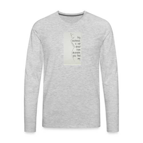 Feminist - Men's Premium Long Sleeve T-Shirt