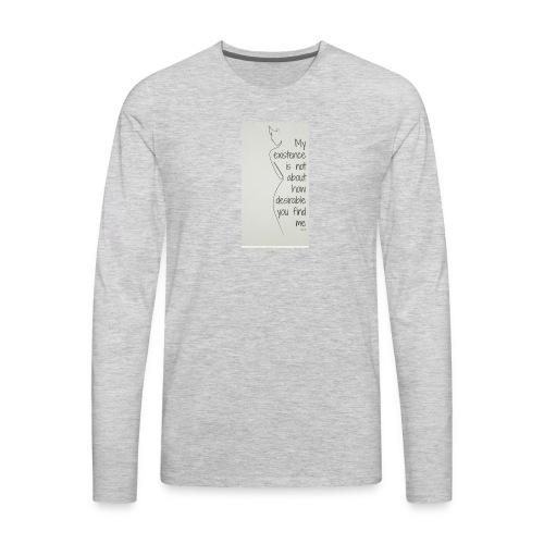 Feminist - Men's Premium Long Sleeve T-Shirt
