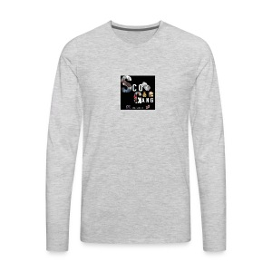 ScoGang Design in Memory of Deshawn Jones - Men's Premium Long Sleeve T-Shirt