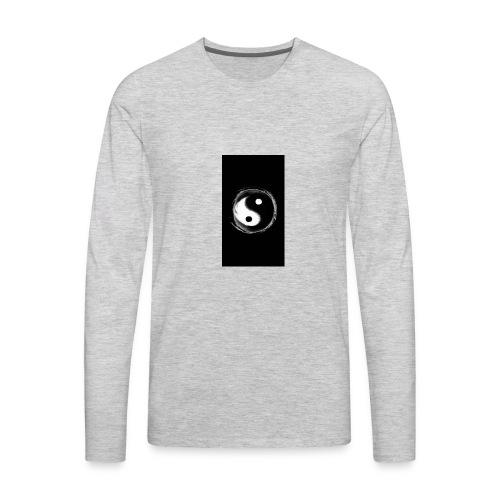 yin yan Industries - Men's Premium Long Sleeve T-Shirt