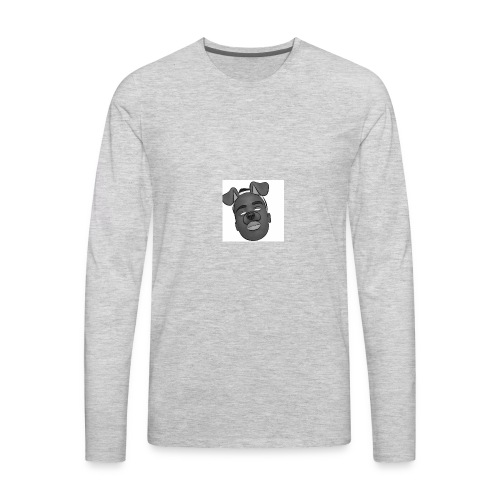 Caleb Quarshie- Sketch - Men's Premium Long Sleeve T-Shirt
