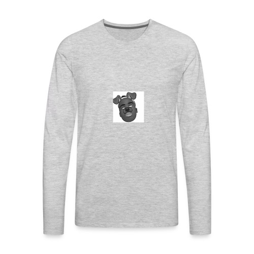 Caleb Quarshie- Sketch - Men's Premium Long Sleeve T-Shirt
