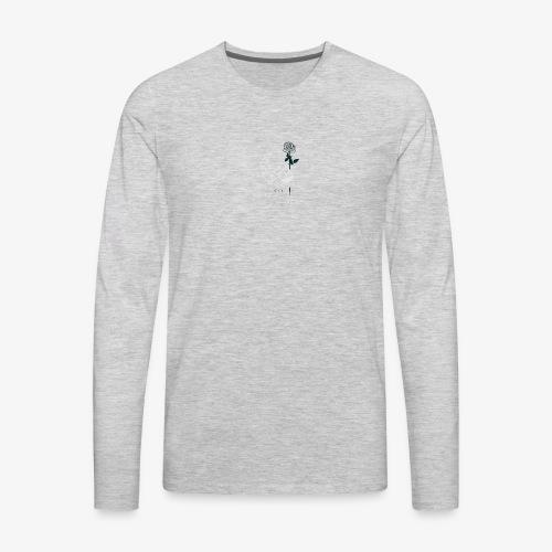 Dead Student Logo - Men's Premium Long Sleeve T-Shirt