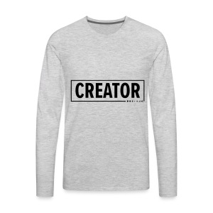 Creator - Men's Premium Long Sleeve T-Shirt