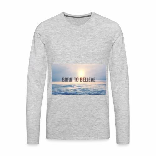 BorntoBelive Merch - Men's Premium Long Sleeve T-Shirt