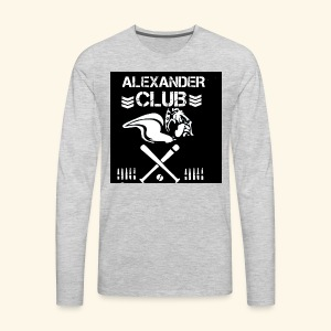 AHS CLUB T'S - Men's Premium Long Sleeve T-Shirt