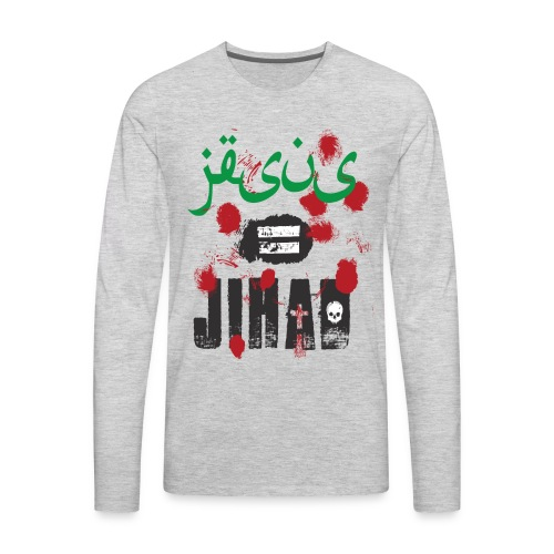 Jesus = jihad - Men's Premium Long Sleeve T-Shirt