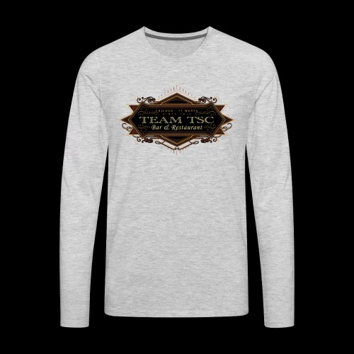 teamTSC badge03 Bar - Men's Premium Long Sleeve T-Shirt