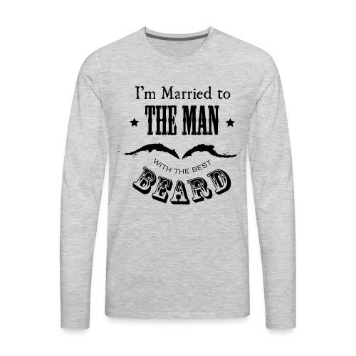 Married to the Beard - Men's Premium Long Sleeve T-Shirt