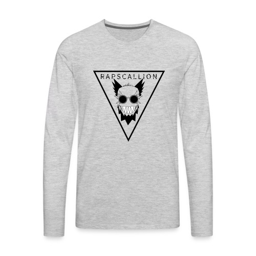 Rapscallion Tri Tee on Light - Men's Premium Long Sleeve T-Shirt