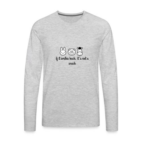 SMILE BACK - Men's Premium Long Sleeve T-Shirt