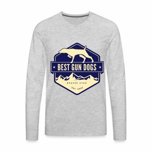 logo color - Men's Premium Long Sleeve T-Shirt
