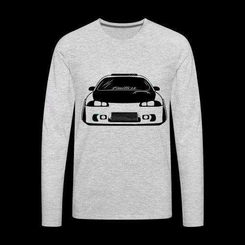 limitless eclipse - Men's Premium Long Sleeve T-Shirt