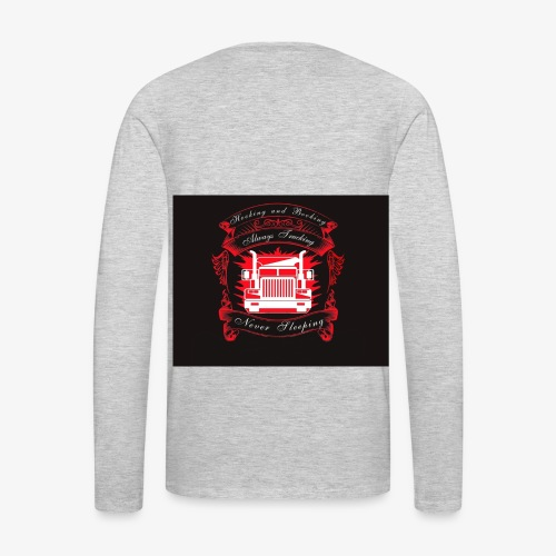 trucking - Men's Premium Long Sleeve T-Shirt