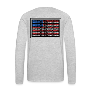 Mayo AMERICAN logo - Men's Premium Long Sleeve T-Shirt