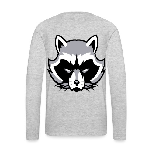 Raccoon - Men's Premium Long Sleeve T-Shirt