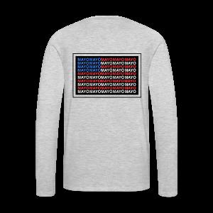 Mayo AMERICA - Men's Premium Long Sleeve T-Shirt