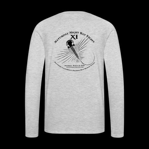 Saturday Night Bat Fight 11 - Men's Premium Long Sleeve T-Shirt