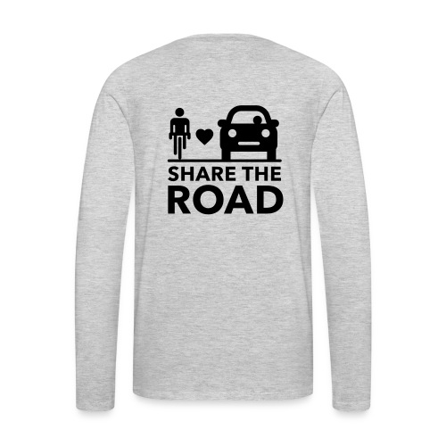 Share the road - Men's Premium Long Sleeve T-Shirt