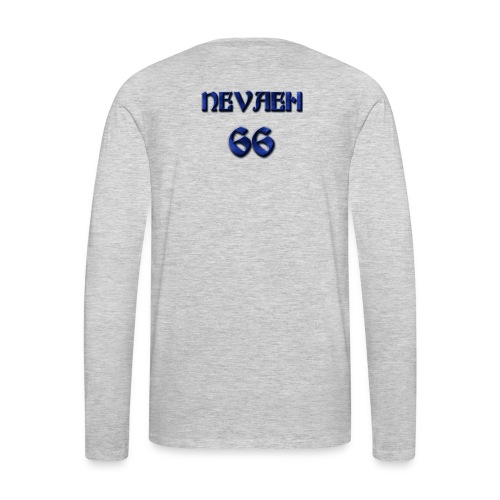 Nevaeh Fusion Flow - Men's Premium Long Sleeve T-Shirt