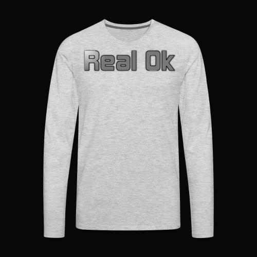 Real Ok version 2 - Men's Premium Long Sleeve T-Shirt