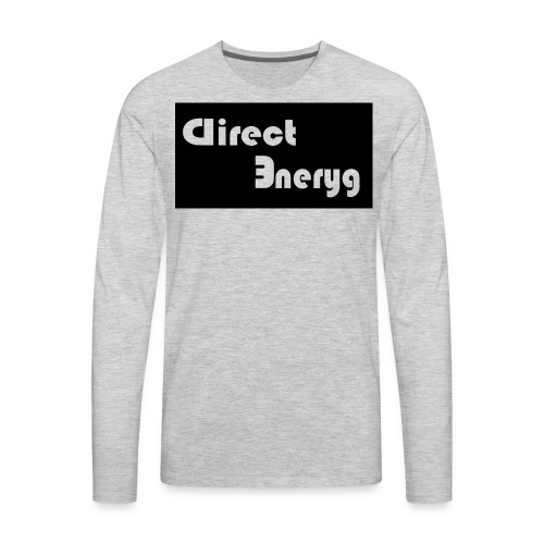 Direct Energy Wear - Men's Premium Long Sleeve T-Shirt