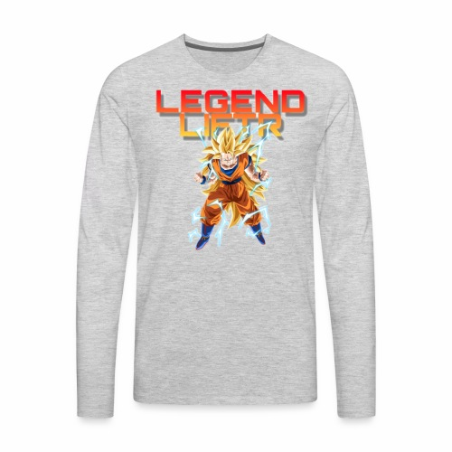 Saiyan Legend Liftr - Men's Premium Long Sleeve T-Shirt