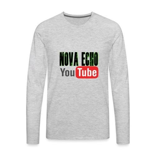 Nova Echo Merch - Men's Premium Long Sleeve T-Shirt