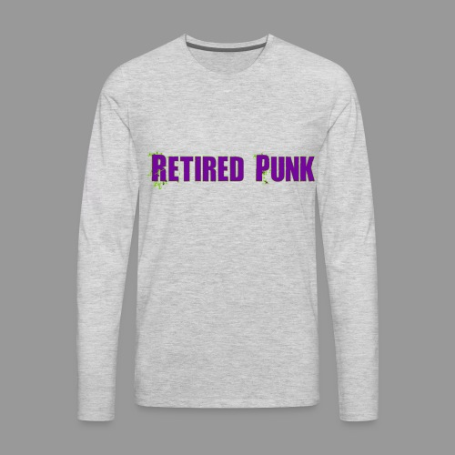 Retired Punk 001 - Men's Premium Long Sleeve T-Shirt