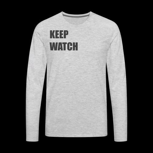 Keep Watch - Men's Premium Long Sleeve T-Shirt