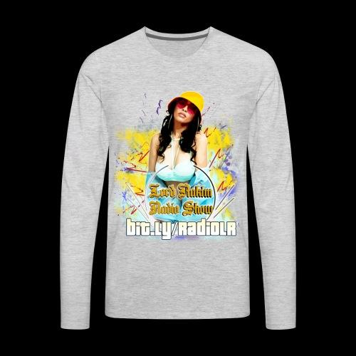 Lord Rakim Radio - Fly B-Girl - Men's Premium Long Sleeve T-Shirt
