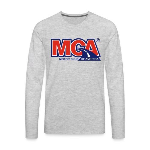 MCA_Logo_WBG_Transparent - Men's Premium Long Sleeve T-Shirt